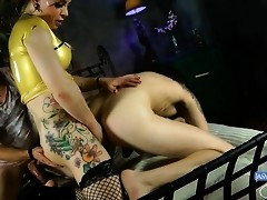 Amazing Jasmine banging a guy in a hot 3some