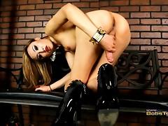 Gorgeous Venus stroking her ladystick