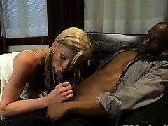 Ass blasting Morgan Bailey and her huge cock tear up a sneaky perv who tries to secretly film getting a BJ. Morgan teaches his ass and mouth a lesson.
