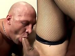 Chris Sucking Melissa's Big Hard Cock