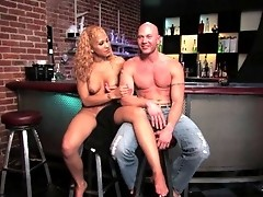 TS Jessica ties up and fucks Jim with her huge cock