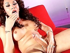Mia Isabella Playing With Her Enormous Dick