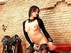 Hot Brazilian Natasha Rusty Masturbating