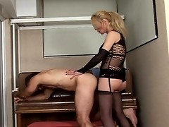 Transsexual Sucks Dick And Gets Drilled By Horny Man